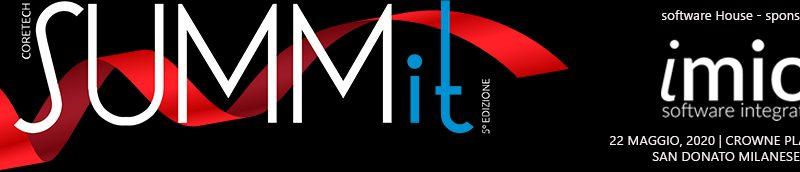 iMio sponsor evento Coretech